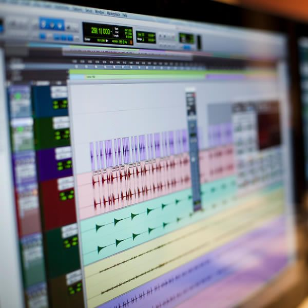 recording pro tools screen
